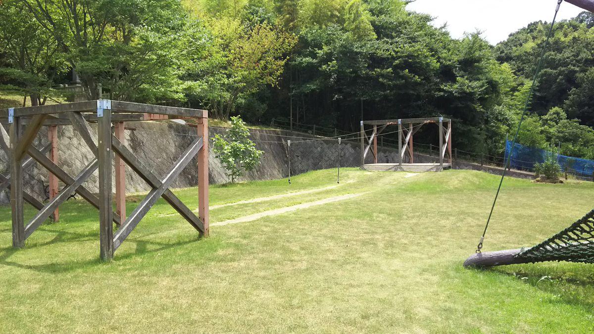 安神山(あんじんさん)わくわくパーク ターザンロープ
