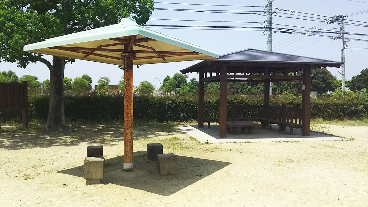 東垣生公園ちびっこ広場の設備