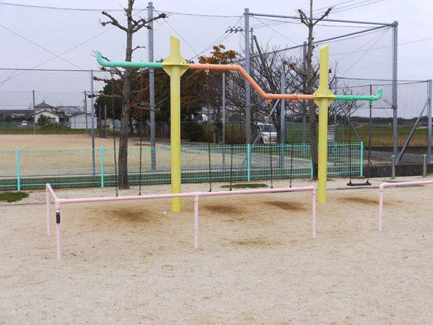 写真:東垣生公園 ブランコ