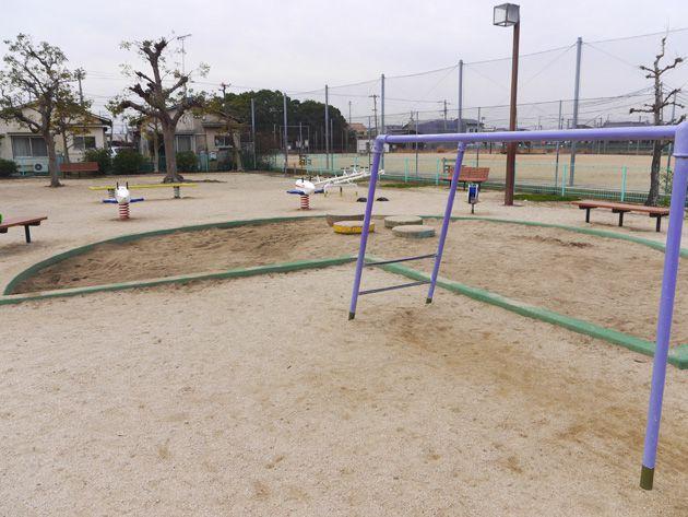 写真:東垣生公園 砂場&うんてい