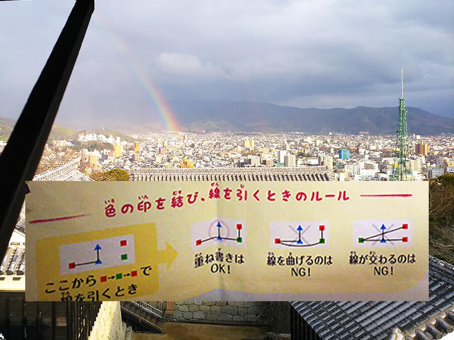 松山市「財宝伝説2」謎解き 印の結び方