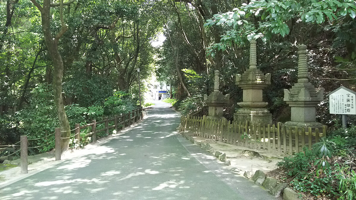 大山祇神社 参道