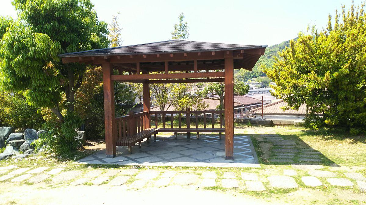 南江戸公園 東屋