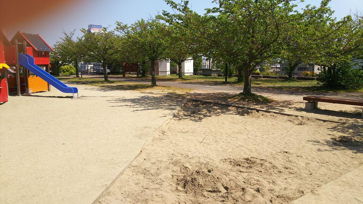 南江戸公園 砂場