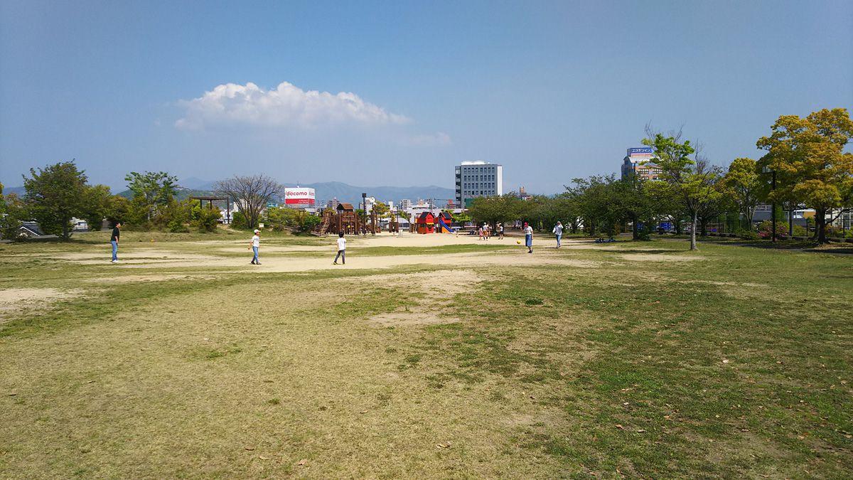 南江戸公園 グラウンド