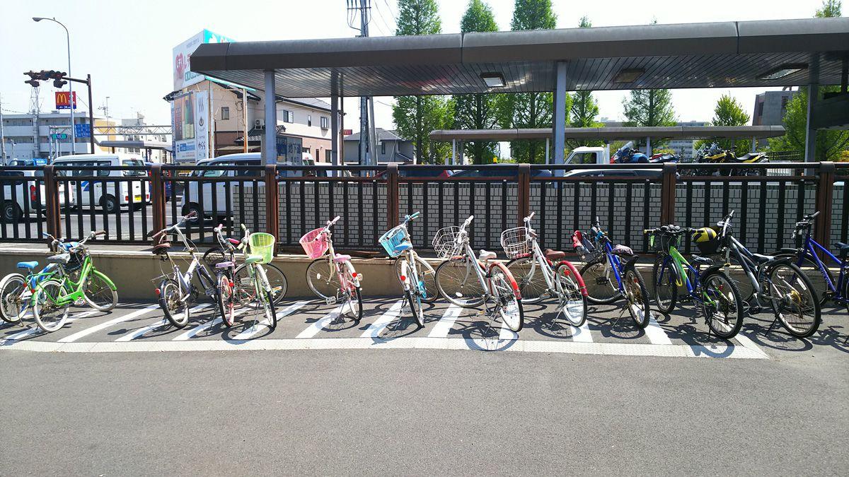 南江戸公園 駐輪場