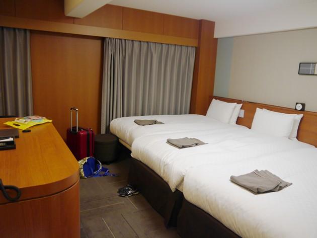 リッチモンドホテル東大阪 ベッド