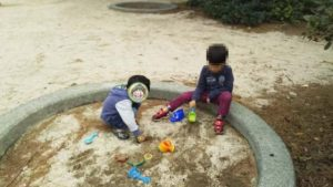 長浜環境緑地 砂場