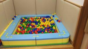 松山市北条児童センター 遊戯室(ボールプール)