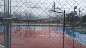 松山市北条児童センター 屋外バスケットコート