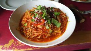 Fondente(フォンデンテ) 野菜たっぷりのトマトスパゲティー