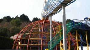 丹原総合公園 ドーム型のジャングルジム