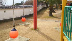 丹原総合公園 ロープ型ブランコ